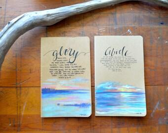 Hand Painted Moleskine Journal
