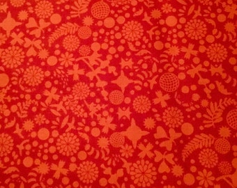 Endpaper in Cinnabar from Sun Print 2016 by Alison Glass