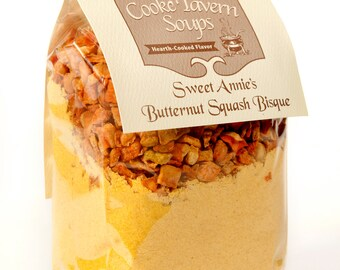 Sweet Annie's Butternut Squash Bisque Soup Mix  Cooke Tavern Soups