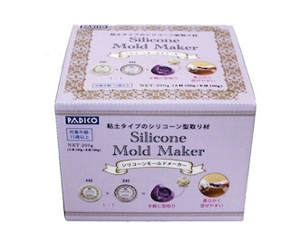 Silicone Mold Maker, Padico Silicone Mold Making Kit Modeling Making, Mold Making Kit, Create Molds for air dry clay / UV Resin