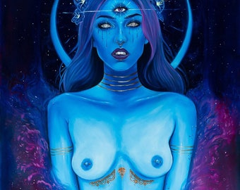 Shivas Awakening print