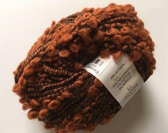 Trendsetter Yarns Othello #6 Copper Bulky Alpaca Wool Cotton Blend 50gr 44yds