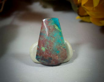 Parrot Wing Chrysocolla Cabochon cab4661