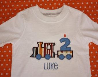 Personalized Birthday Tshirt or Onesie for Boys or Girls