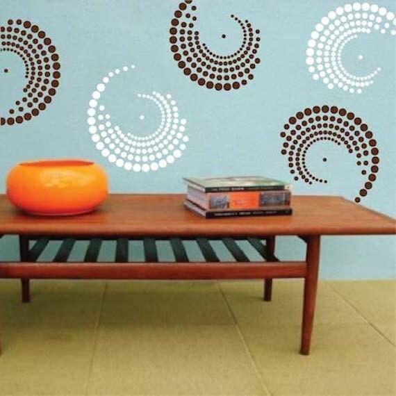 Curvy Vinyl Wall Decals Shape Wall Decals Shape Wall - Custom vinyl wall decals circles