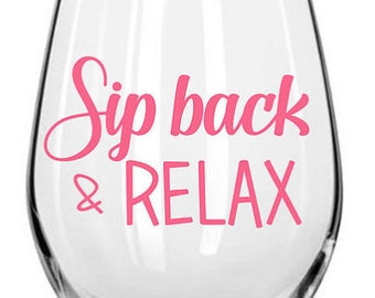 Sip Back & Relax