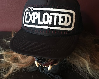 The exploited punk hat