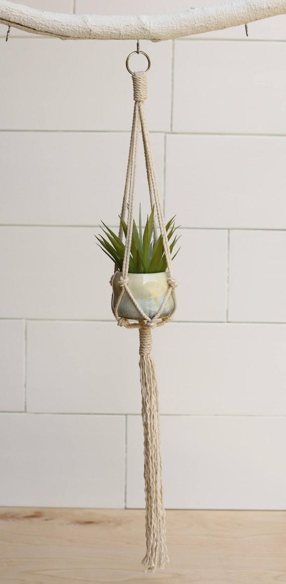 small hanging planter