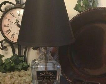 Single Barrel Whiskey Bottle Lamp