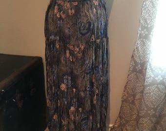 Vintage Cactus Flower Skirt