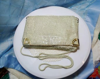 Vintage Aluminium Mesh Shoulder Bag
