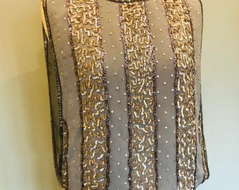20s style sequins top