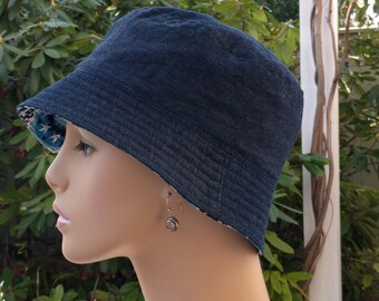 Chemo Hats Cancer Cap Hat Hair Loss Hats Alopecia Hat Made in the USA. MEDIUM