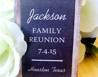 Family reunion favors, family reunion Gifts, reunion Party, class reunion, family reunion, high school reunion