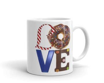 Candy Love Mug. Perfect gift for coffee or tea lovers!