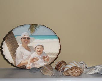 Custom Basswood photo, Picture printed on wood, Gift idea