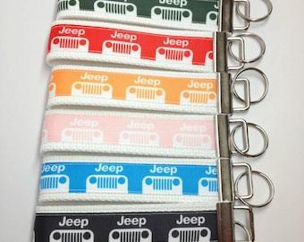 JEEP Key Fob Wristlet Key Chain
