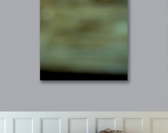 Ready to Hang Abstract Photography Landscape, Canvas Print, 30x30 Large Landscape Print,  Modern Art, Abstract Photograph, West Elm Artist