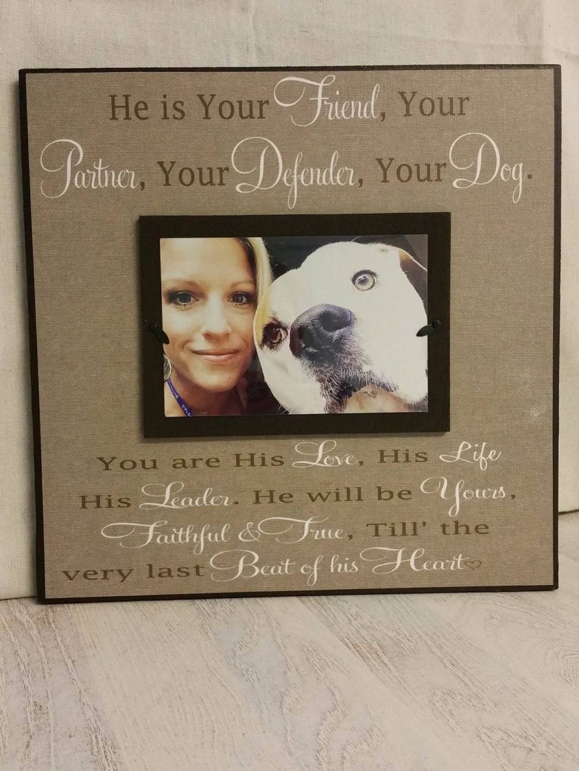 zoom - Dog Memorial Picture Frames