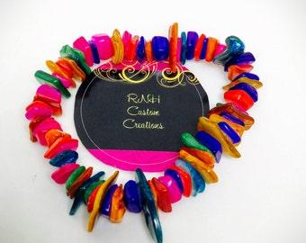 Gorgeous Multi-Color Stretchy Bracelet