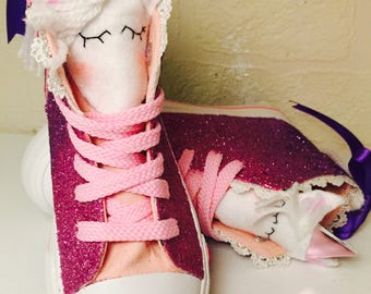 Made to order - Customised childrens unicorn shoes