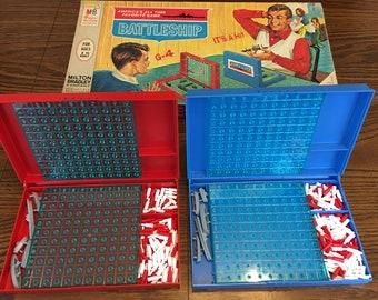 Vintage 1971 Milton Bradley Battleship Game
