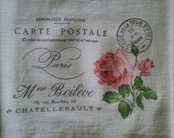 Paris Flour Sack Towel