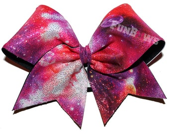 Galaxy Space Allstar Cheer bow by FunBows !!