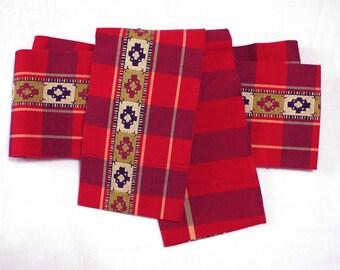 Second hand Hanhaba-obi, Japanese casual obi belt for yukata and casual kimono, cotton