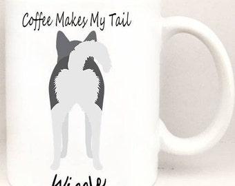Coffee Makes My Tail Wiggle