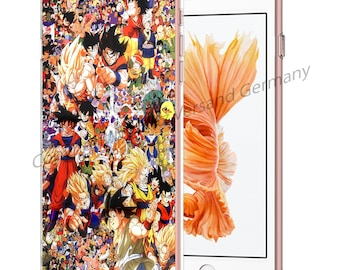 DRAGONBALL Z Smartphone transparent TPU Case with motif fit for Smartphone models Huawei iphone SAMSUNG Cartoon Comic M9