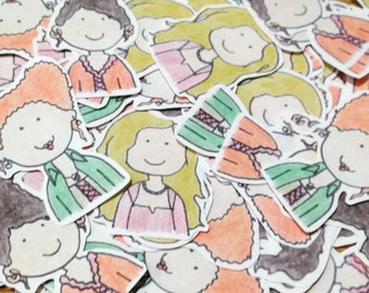 Hocus Pocus Stickers - Sanderson Sisters - Halloween Stickers - Planner Stickers - Bujo Stickers - Cute Stickers - Journal Stickers