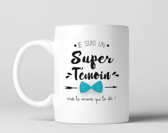 Mug gift I'm a super light! front/back