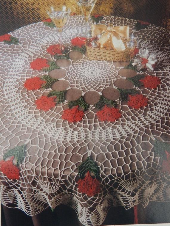 Vintage crochet doily patterns w diagrams magic crochet magazine vintage crochet doily patterns w diagrams magic crochet magazine oct 1992 80 special christmas tablecloth doilies filet motifs from redwickerbasket ccuart Gallery