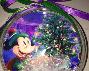 Mickey Mouse  Christmas  themed ornament