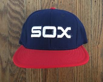 Vintage Chicago White Sox MLB Snapback Hat Baseball Cap