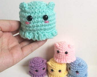 Easy Amigurumi Octopus : Make an amigurumi octopus with this simple free pattern thanks so