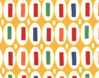 "Moda Fabrics ""American Jane"" Pezzy Prints in Yellow 1 Yard Cut"