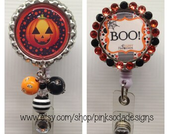 BOO!  - Retractable ID Badge Holder