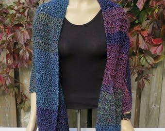 Shawl / Super Soft Crochet Shawl / Shawl / Women's Shawl / Crochet Shawl / Wrap / Lap blanket / Prayer Shawl / Winter Shawl