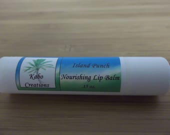 Island Punch Flavored Lip Balm