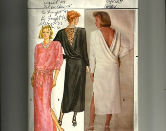 Butterick Misses' Dress Pattern 3018