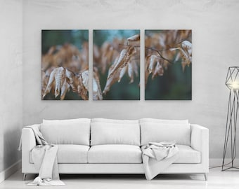 Fall Foliage Color - panels art canvas print wall home decor interior design
