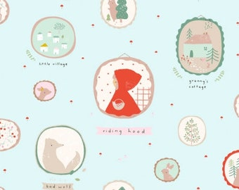 Little Red Frames in Skylight by Dear Stella Choose Your Cut
