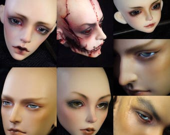 Bjd, SD Doll faceup Commission