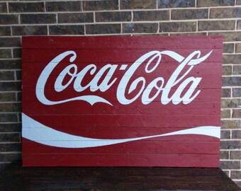 Coca Cola Sign Art