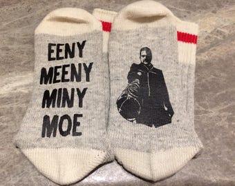 Eeny Meeny Miny Moe .... With Negan Holding Lucille (Socks)
