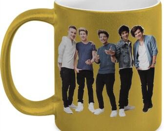 ONE DIRECTION Gold Mug