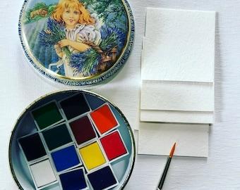 Watercolor Travel Kit
