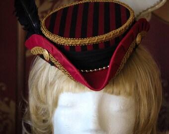 The Bloodsail Buccaneer, Mini Tricorne - Handmade - One of a Kind - WoW - Pirate - Steampunk
